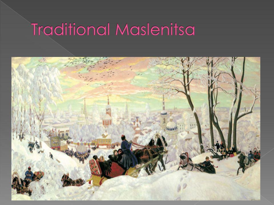 Traditional Maslenitsa