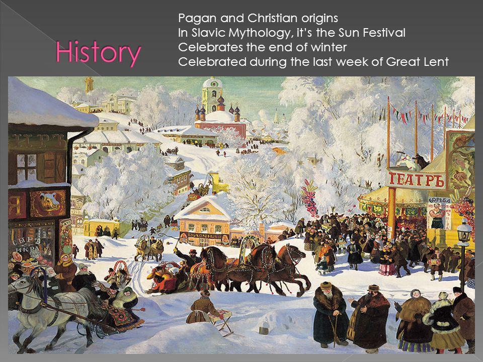 History Pagan and Christian origins