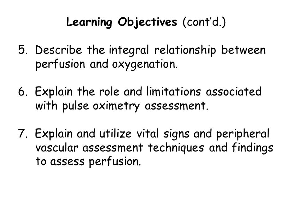 Learning Objectives (cont'd. ) 5