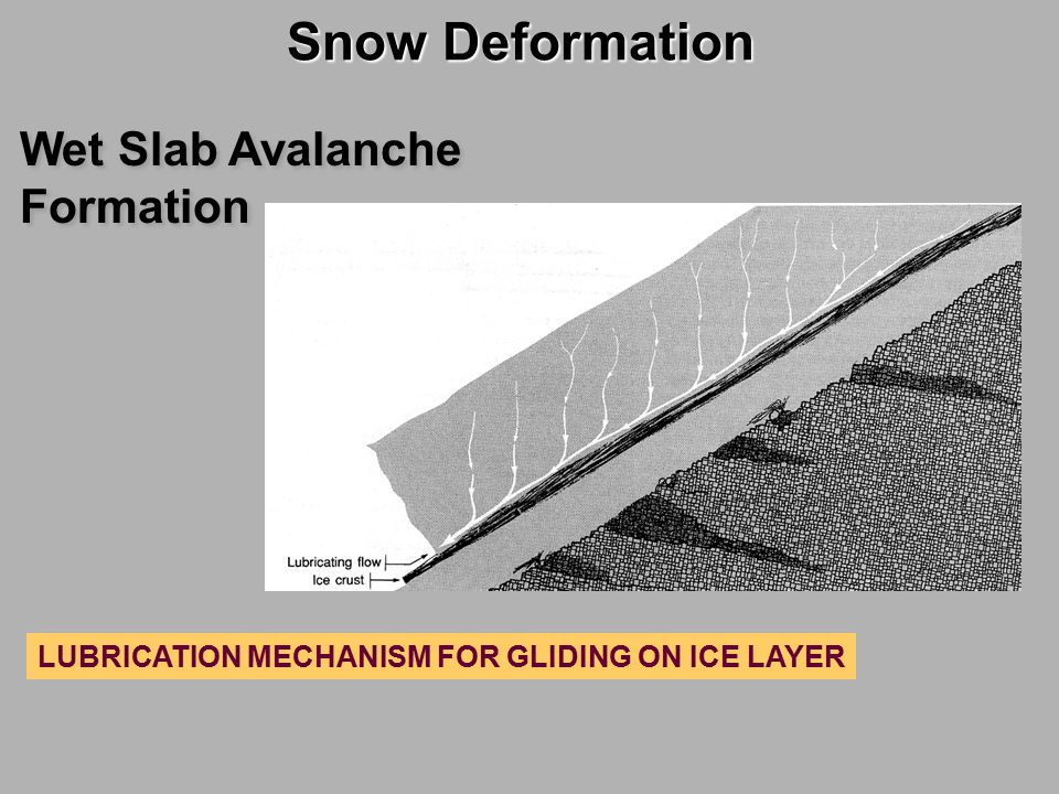 Snow Deformation Snow Deformation