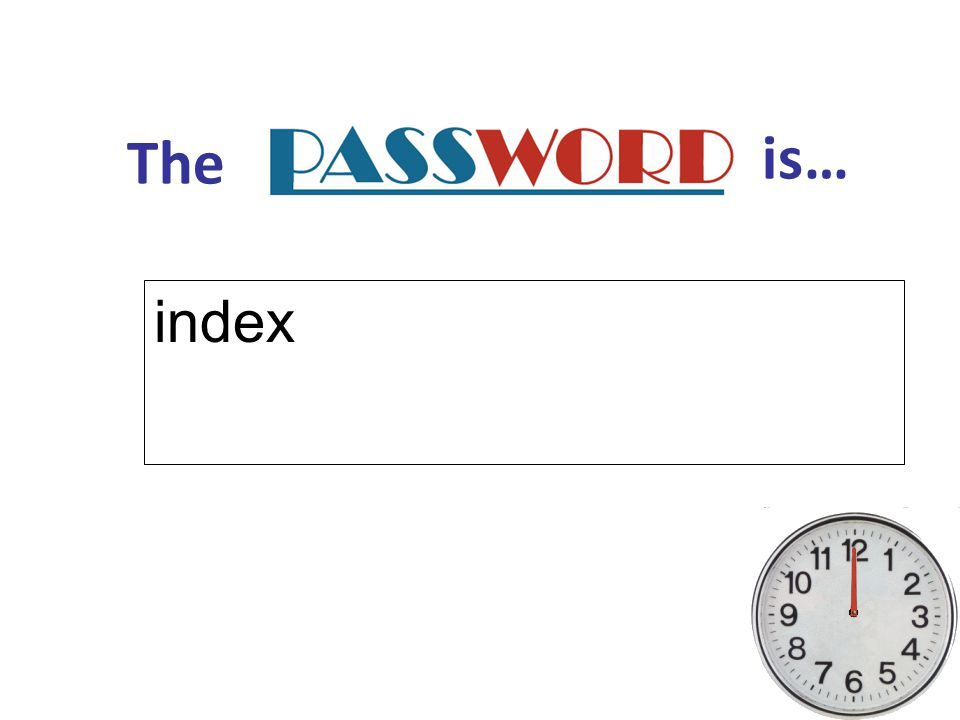 The is… index