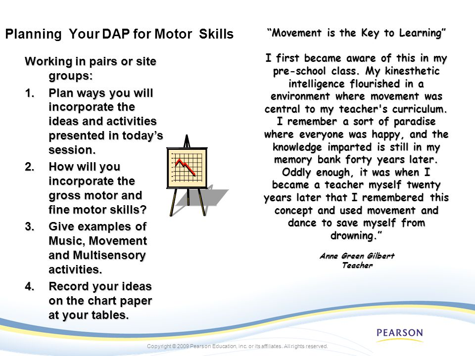 Planning Your DAP for Motor Skills