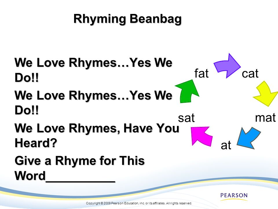 We Love Rhymes…Yes We Do!!