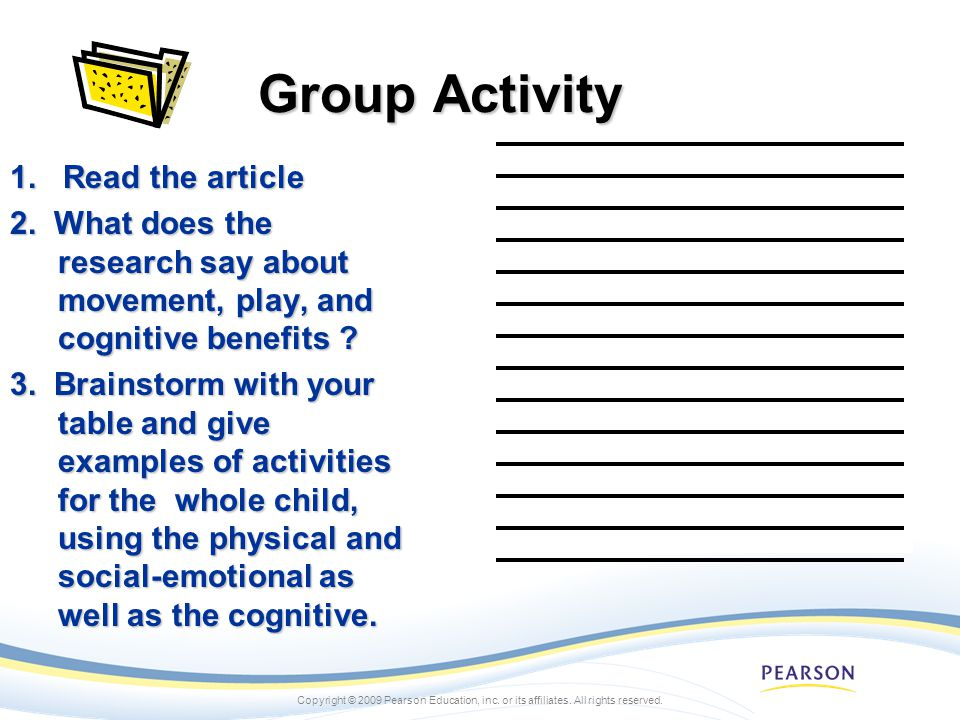Group Activity 1. Read the article