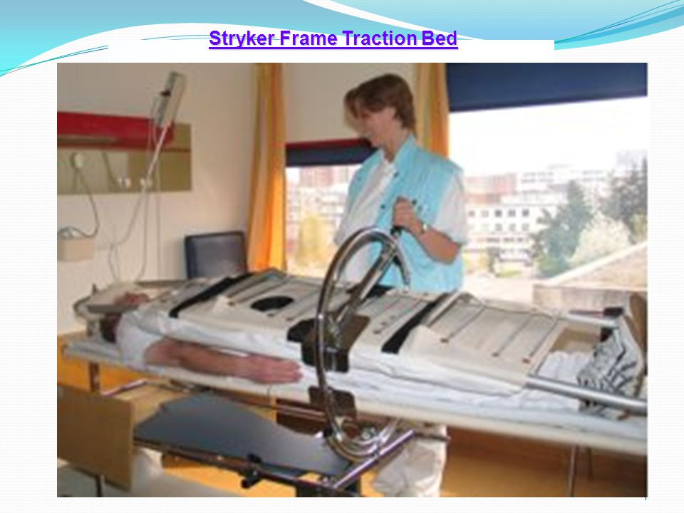 Stryker Frame Traction Bed