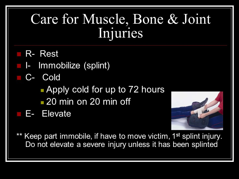 Care for Muscle, Bone & Joint Injuries