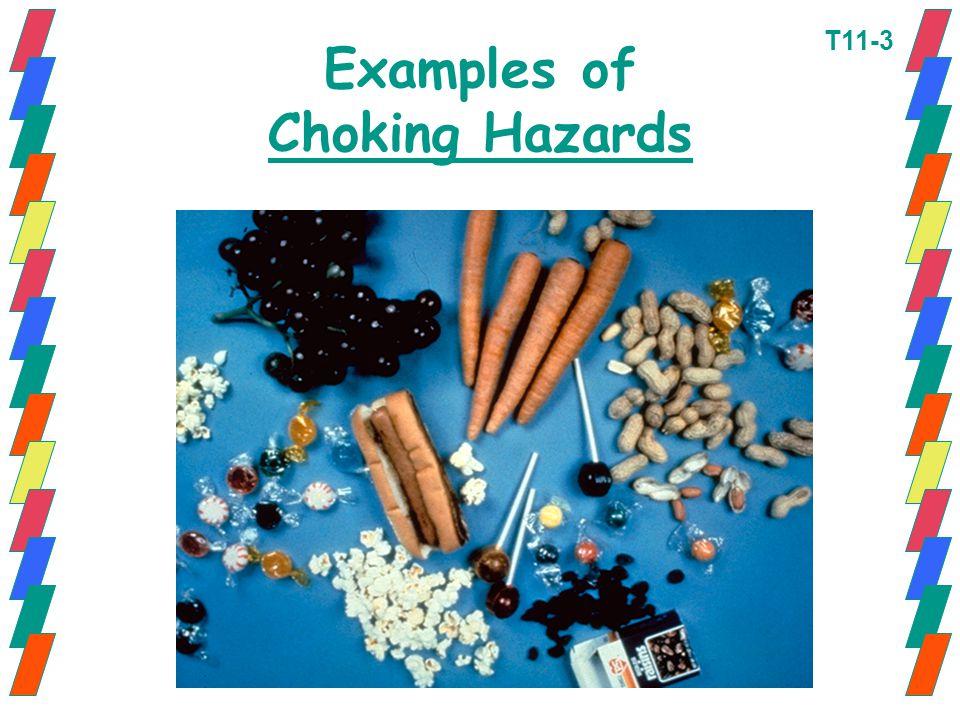Examples of Choking Hazards