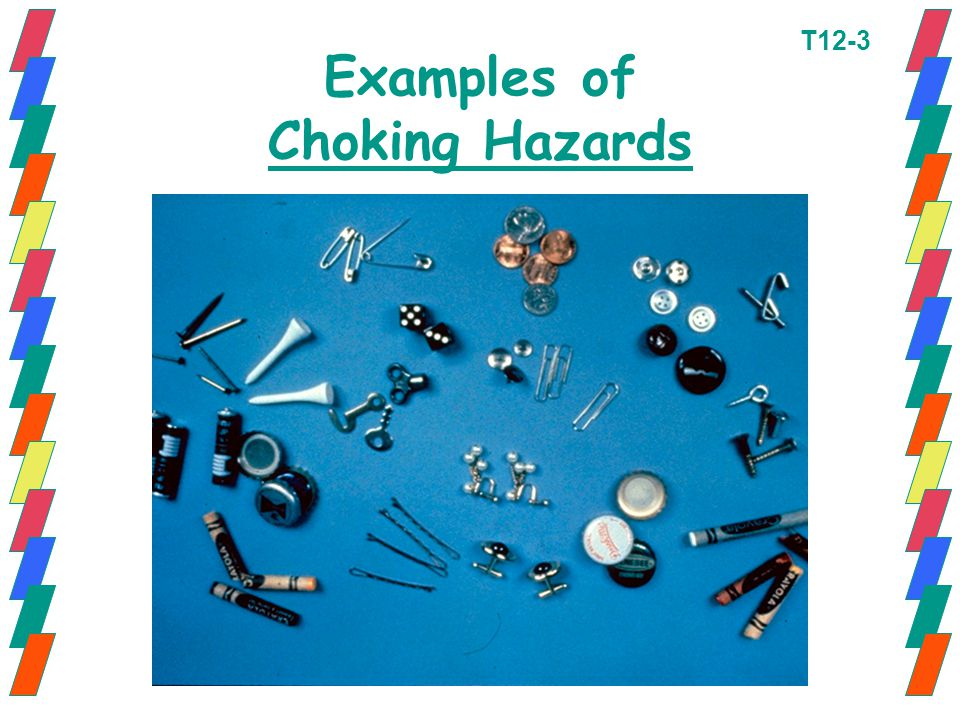 Examples of Choking Hazards