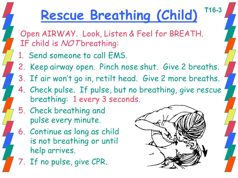 Rescue Breathing (Child)