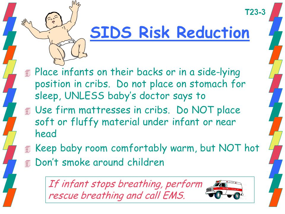 T23-3 SIDS Risk Reduction.