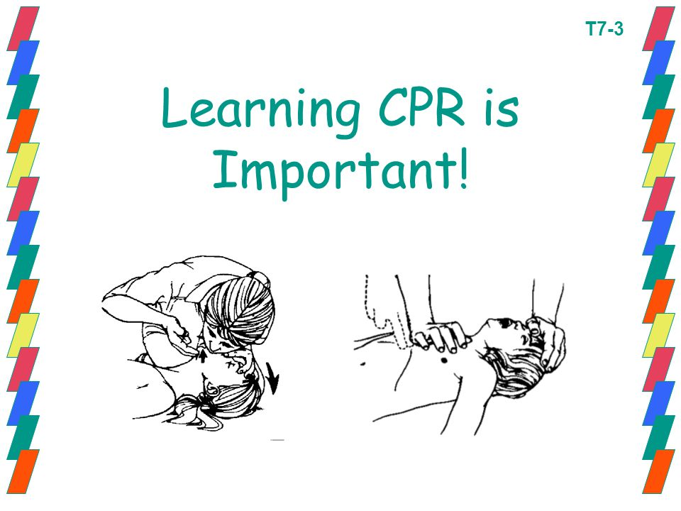 Learning CPR is Important!