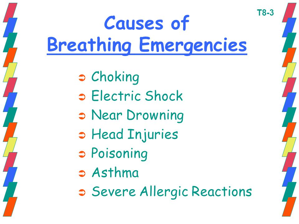 Causes of Breathing Emergencies
