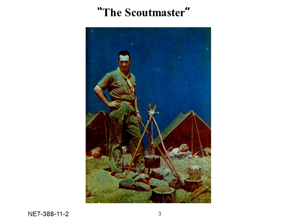 The Scoutmaster 3 NE7-388-11-2