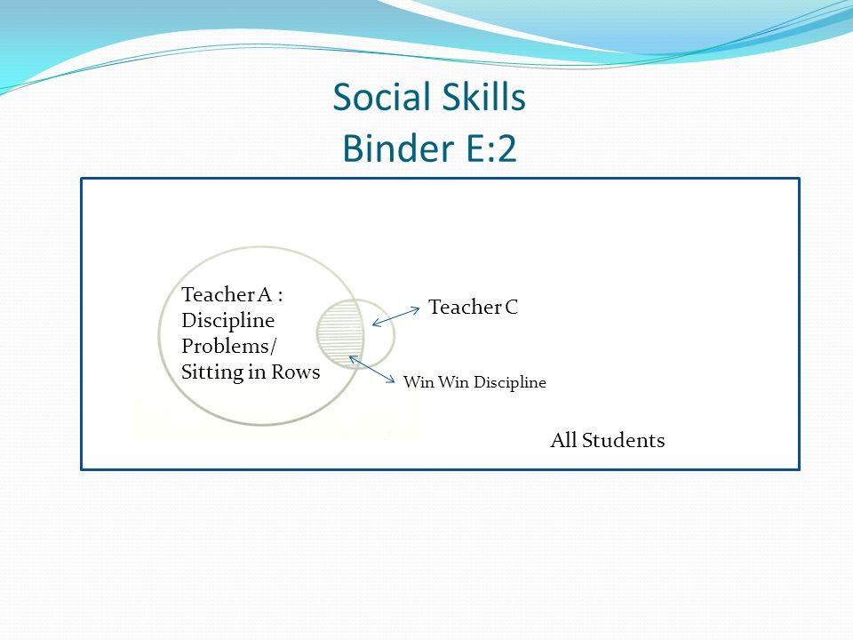 Social Skills Binder E:2