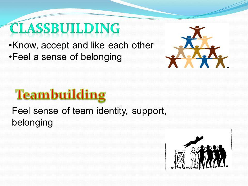 Classbuilding Teambuilding
