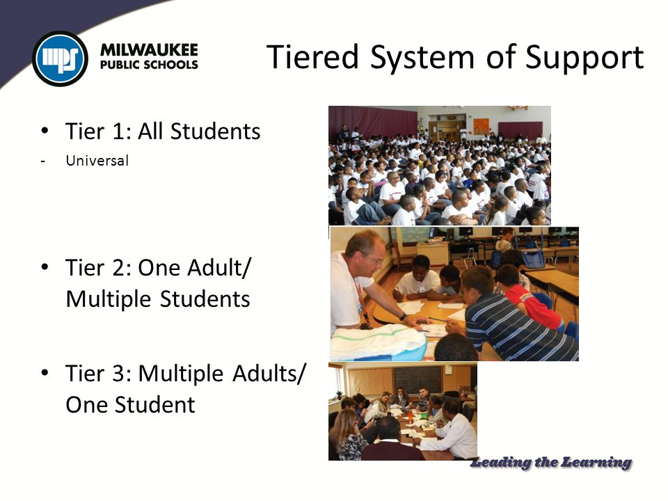 Tiered System of Support