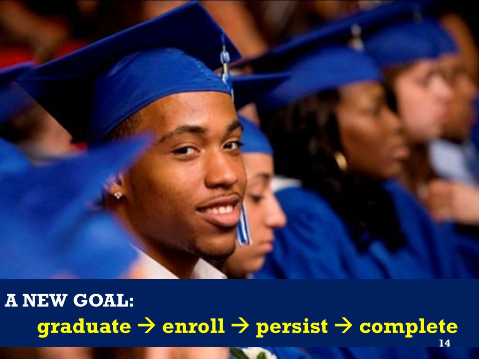 graduate  enroll  persist  complete