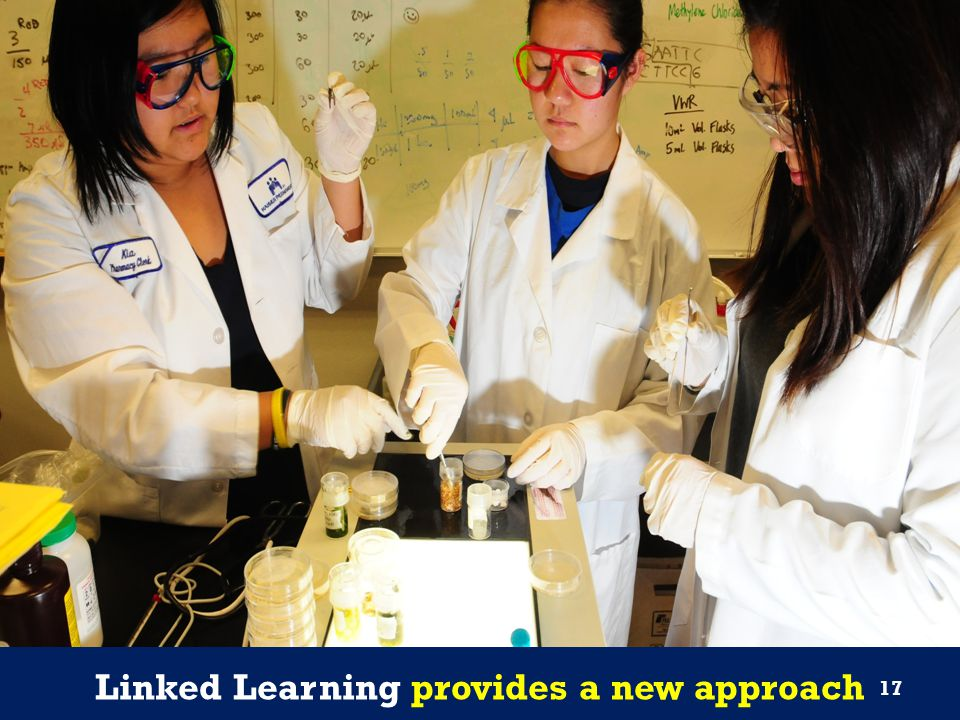Linked Learning provides a new approach