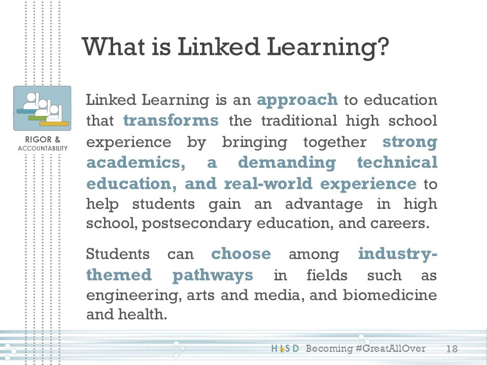 What is Linked Learning
