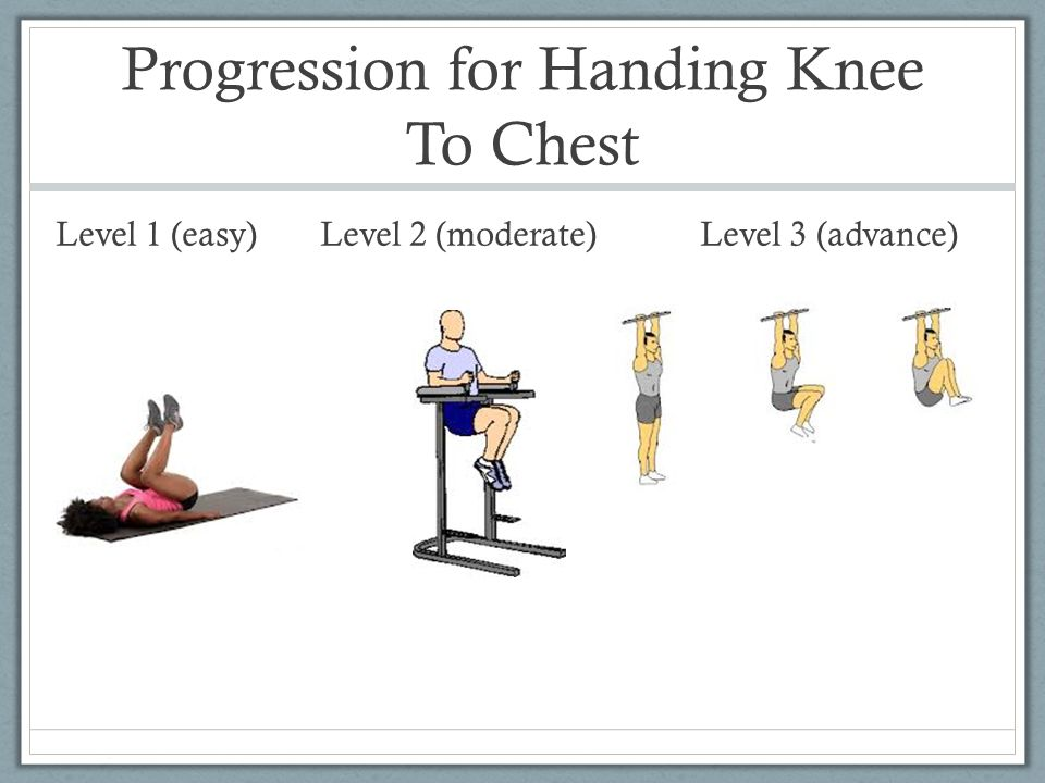 Progression for Handing Knee To Chest