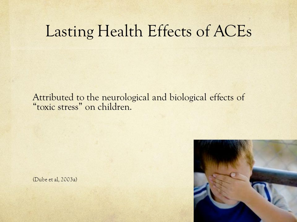 Lasting Health Effects of ACEs