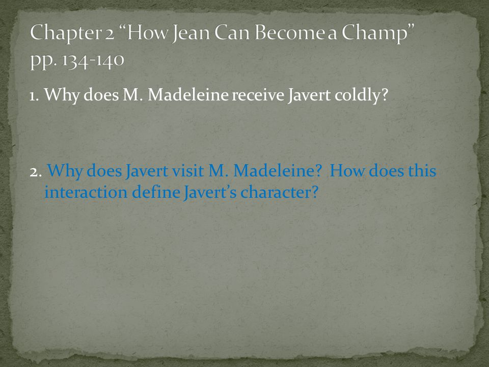 Chapter 2 How Jean Can Become a Champ pp. 134-140