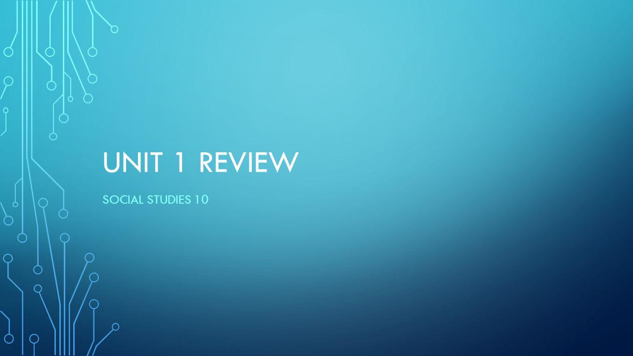 review social studies