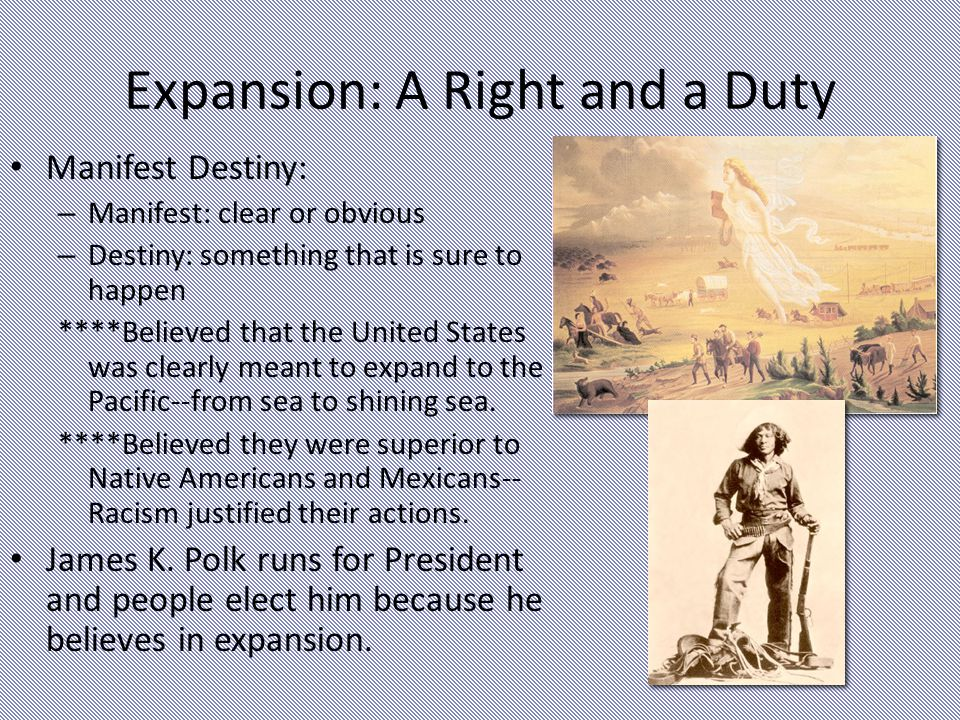 Expansion: A Right and a Duty
