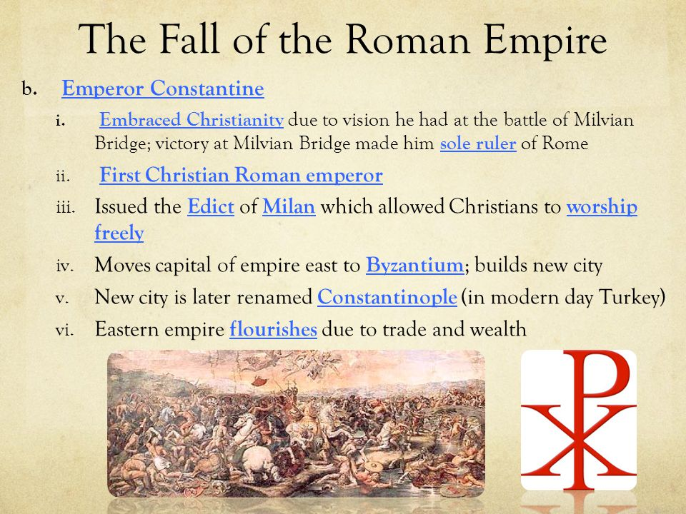 the visions and goals of the roman empire The end of the roman empire  bribes and threats were used to achieve goals  daniel's visions of antichrist's empire greater than and including the old.