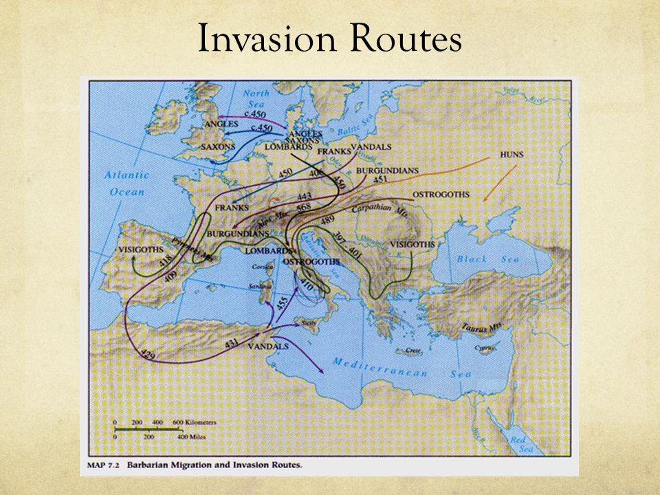 Invasion Routes