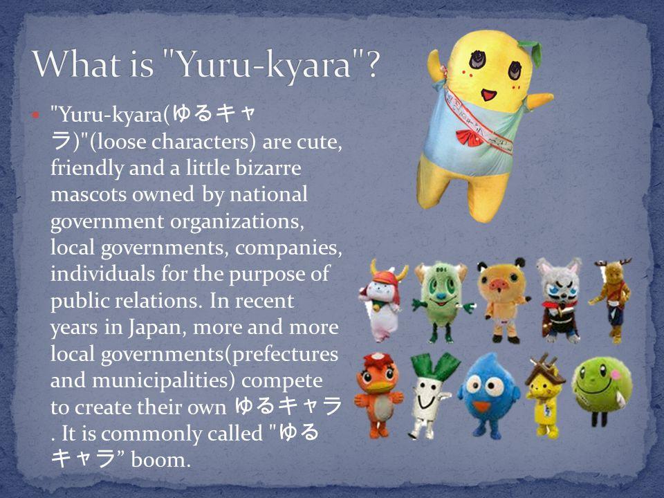 What is Yuru-kyara