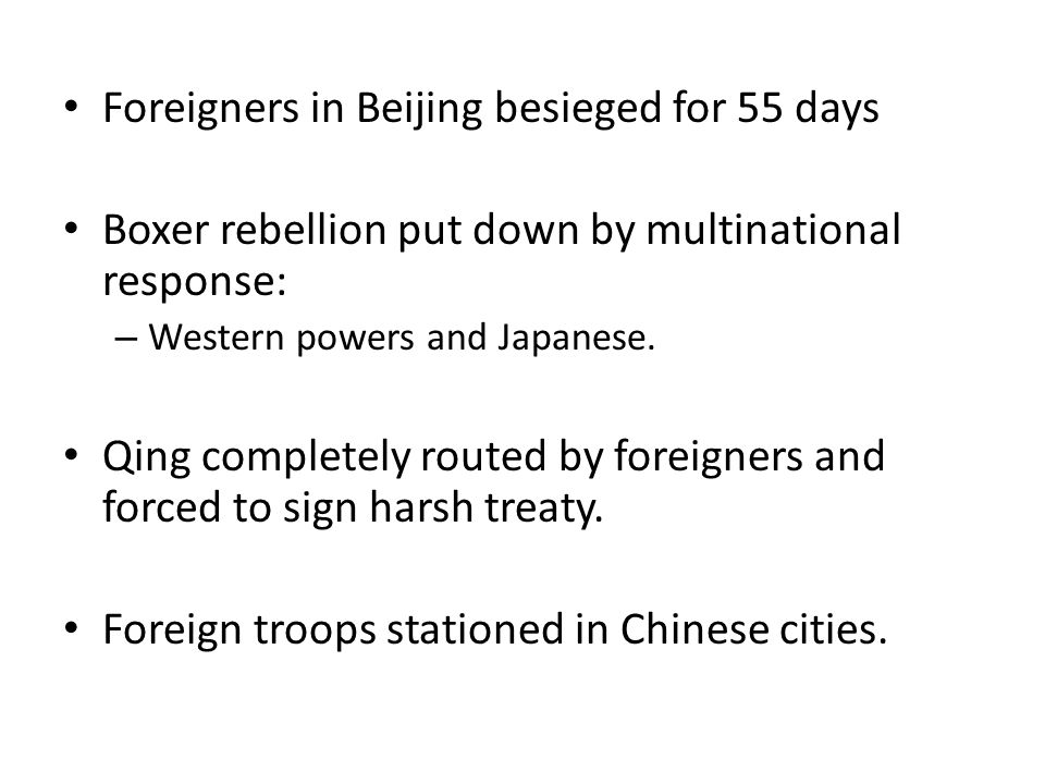 Foreigners in Beijing besieged for 55 days
