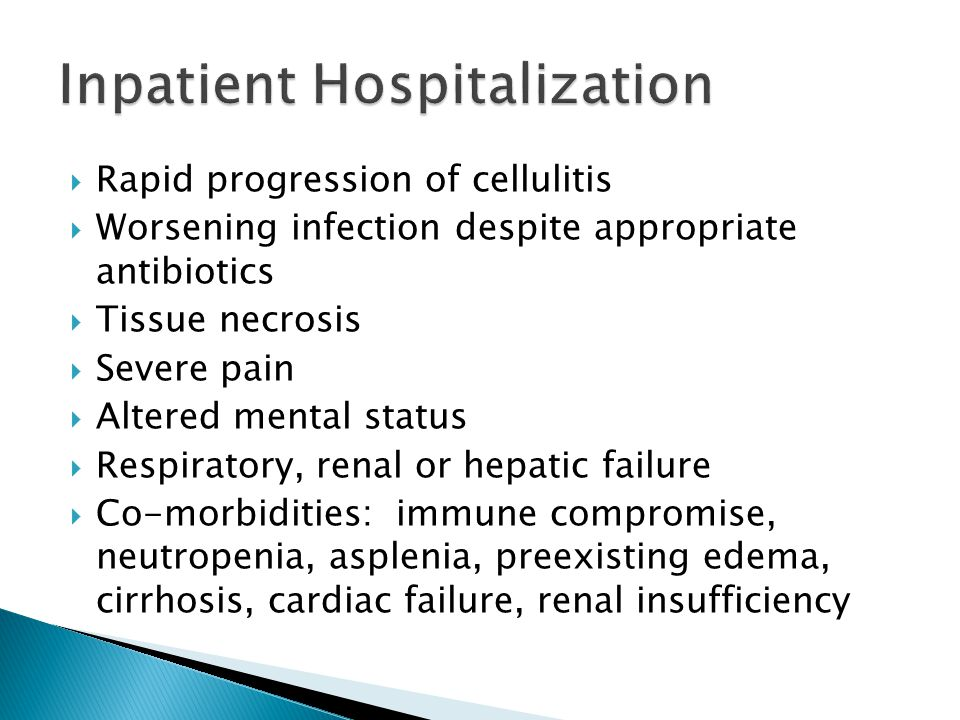 Inpatient Hospitalization