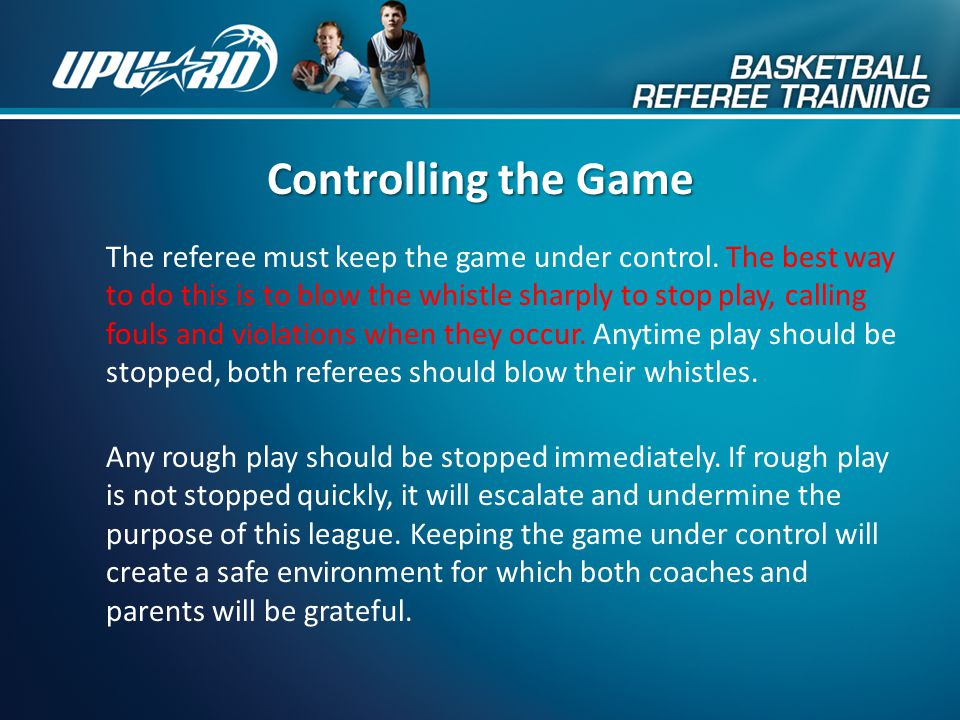 Controlling the Game