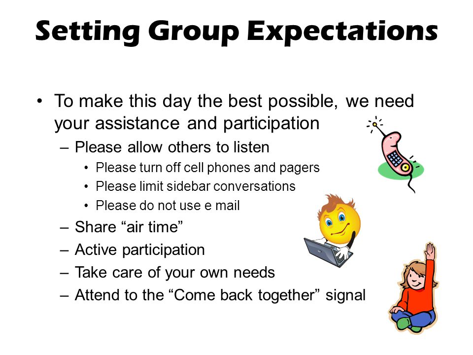 Setting Group Expectations