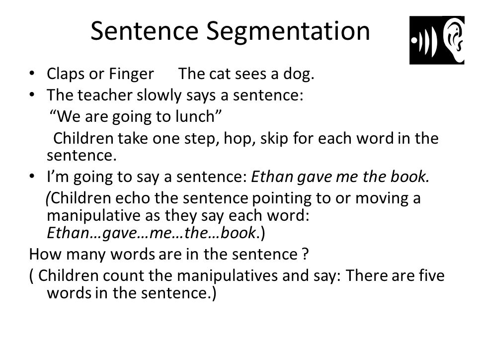 Sentence Segmentation