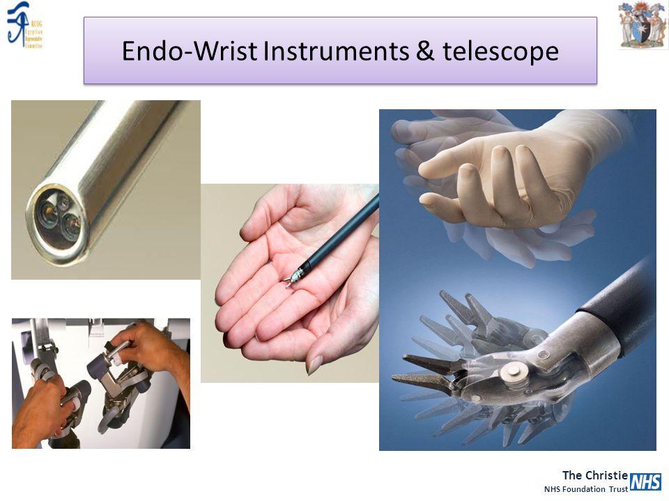 Endo-Wrist Instruments & telescope