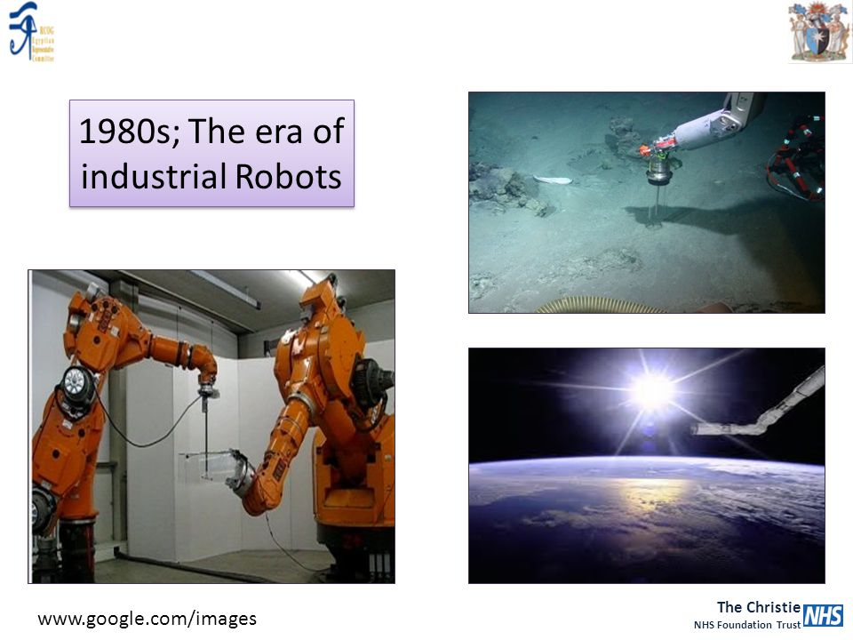 1980s; The era of industrial Robots