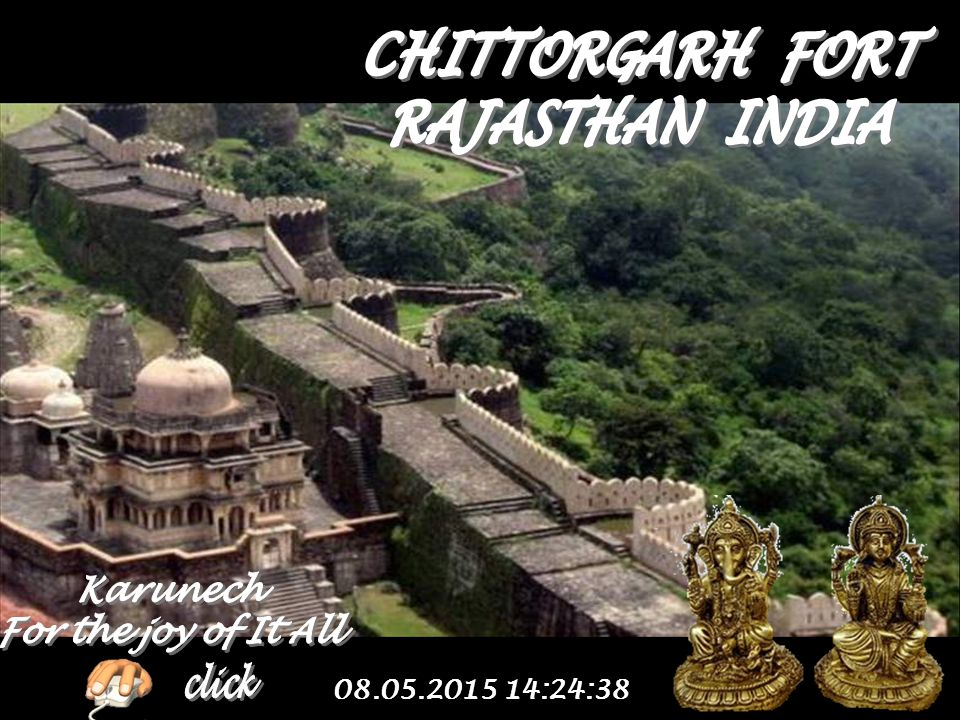CHITTORGARH FORT RAJASTHAN INDIA