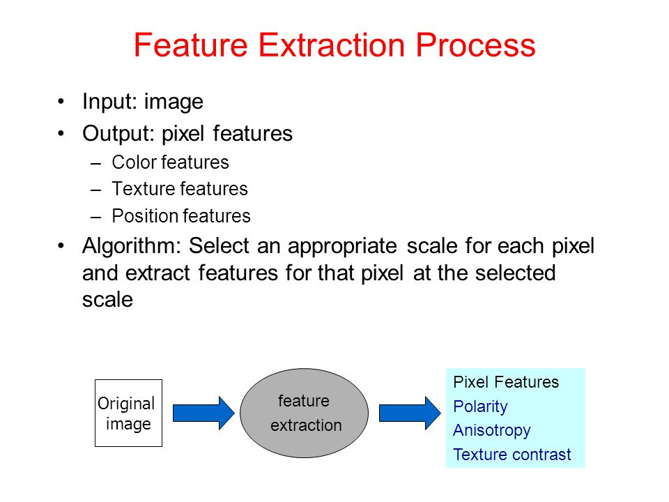 Feature Extraction Process