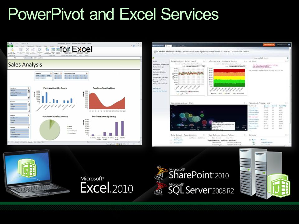 PowerPivot and Excel Services