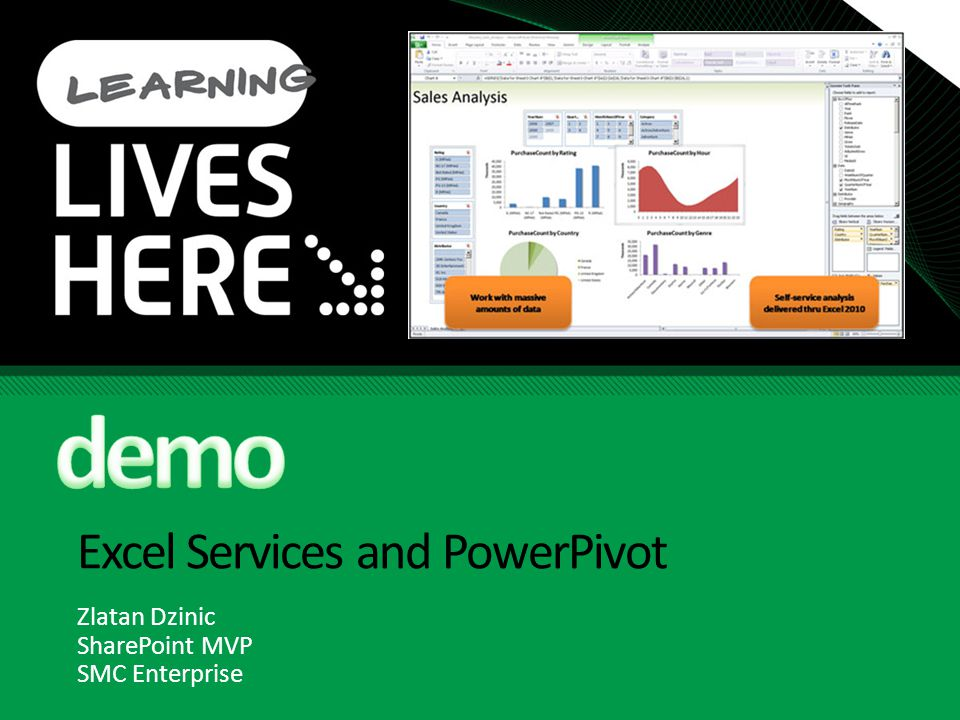 Excel Services and PowerPivot
