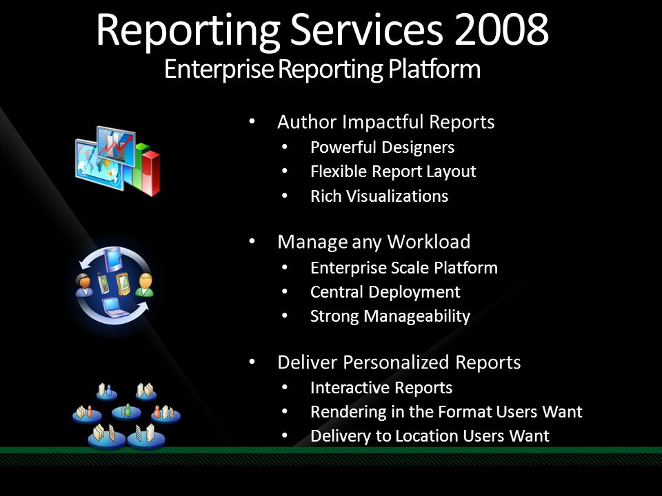 Reporting Services 2008 Enterprise Reporting Platform