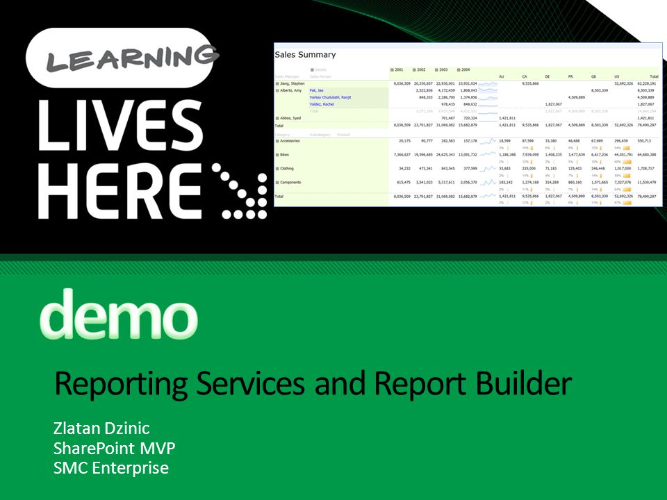 Reporting Services and Report Builder