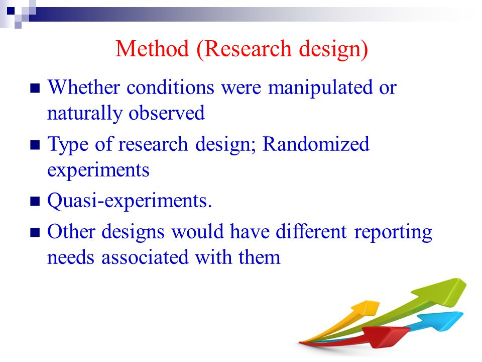 Method (Research design)