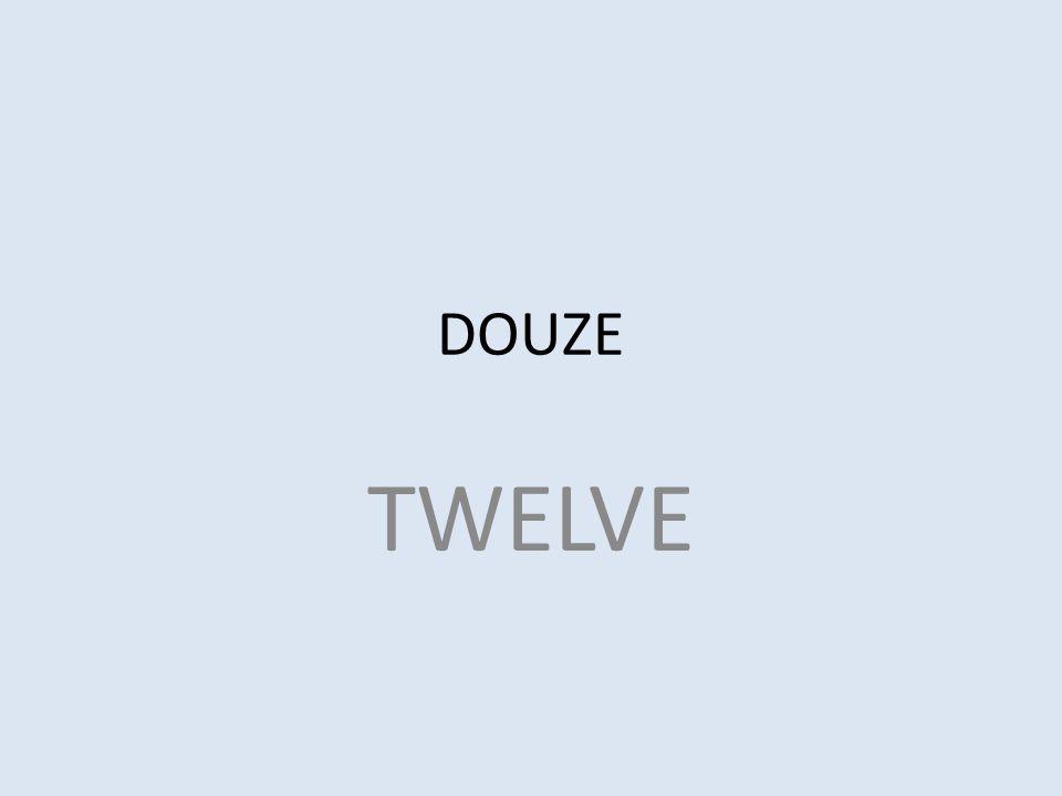 DOUZE TWELVE