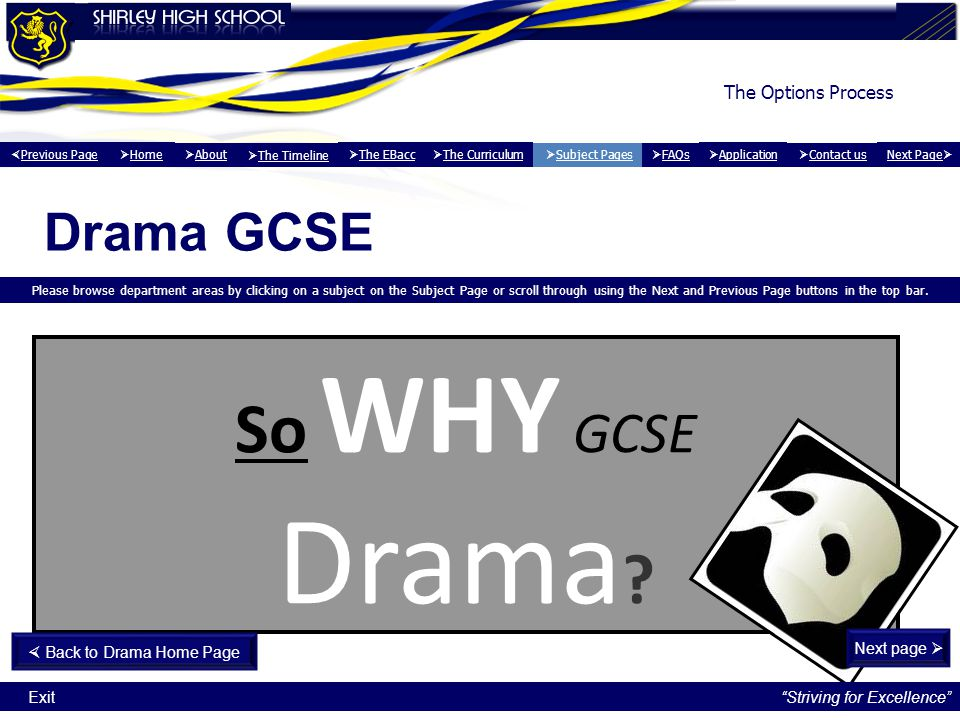  Back to Drama Home Page