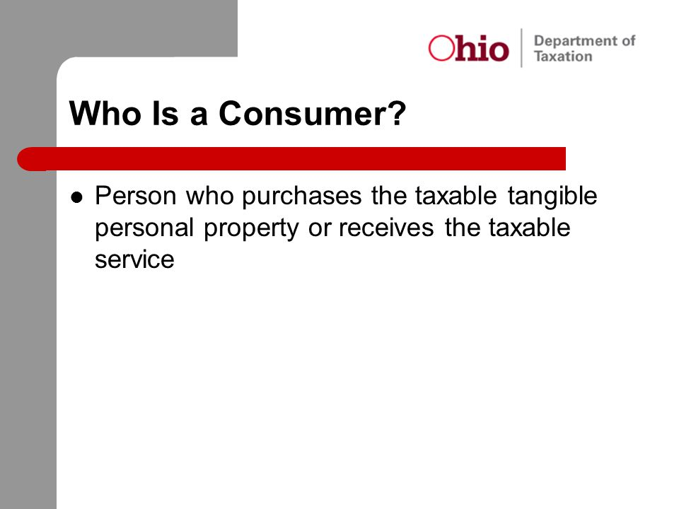 Who Is a Consumer.