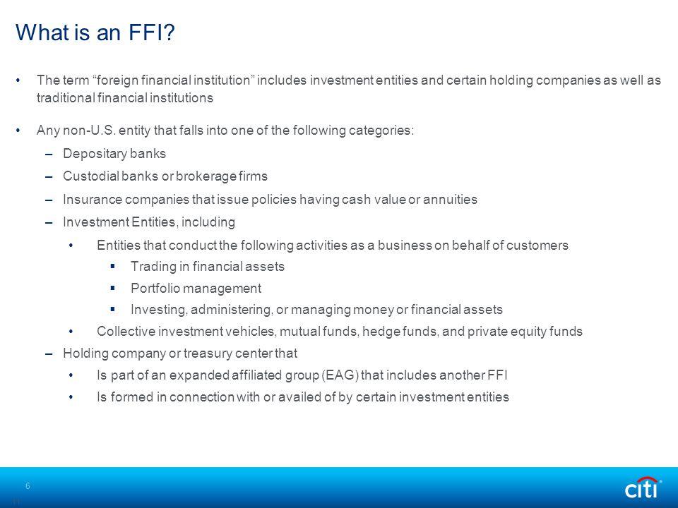 What is an FFI