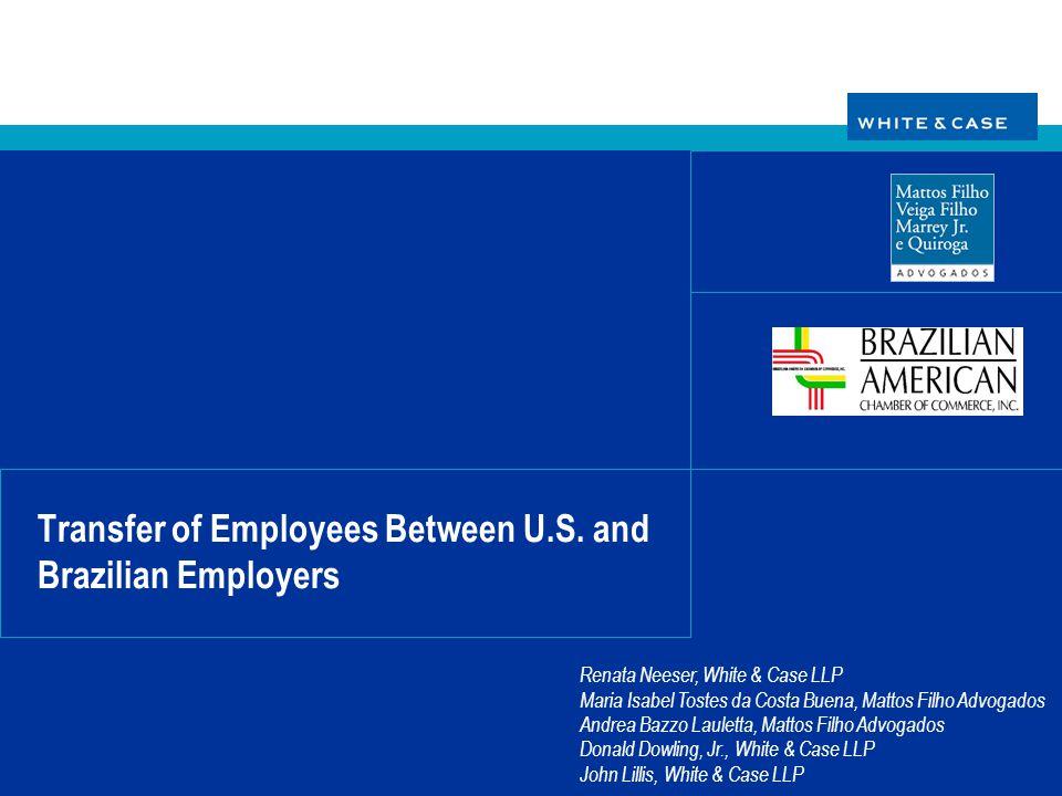 Transfer of Employees Between U.S. and Brazilian Employers